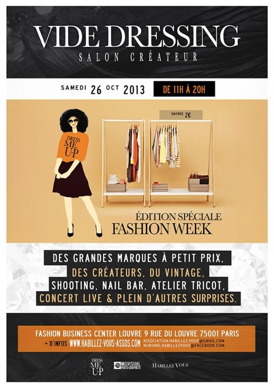 Vide-dressing, Paris