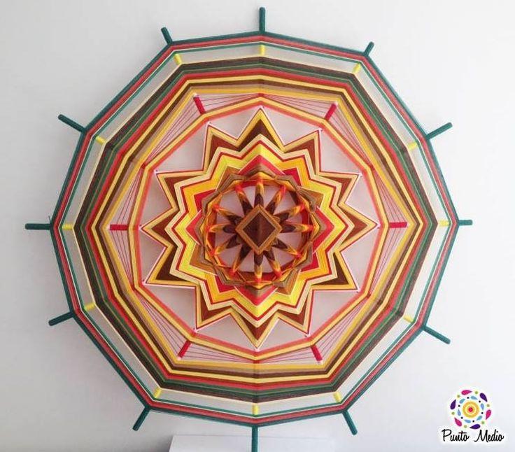 Mandala Gira-Sol. Abundancia, felicidad, y fuerza. www.facebook.com/Ptomedio