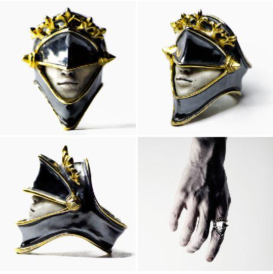 Macabre Gadgets Mars Ring