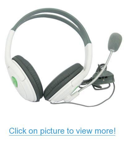 Headset with Microphone for Xbox 360 #Headset #Microphone #Xbox