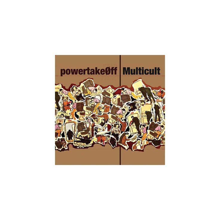 Multicult & Power Take Off - Split (Vinyl)