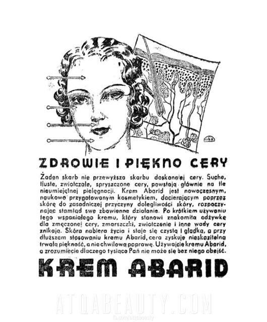Reklama prasowa, 1936.
