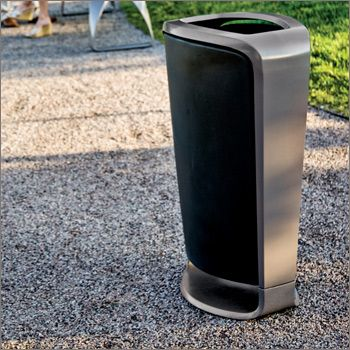 Collect Litter Receptacle | Landscape Forms