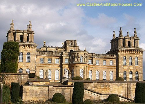 Blenheim Palace, Woodstock, Oxfordshire, England - www.castlesandmanorhouses.com