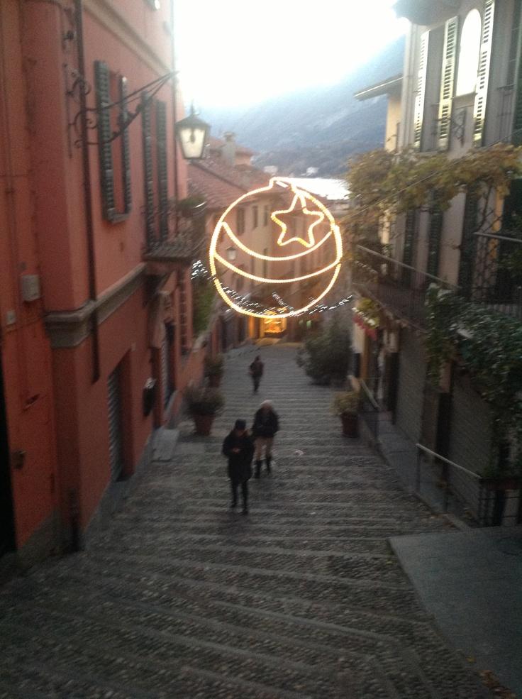 Salita Serbelloni at Christmas Time...