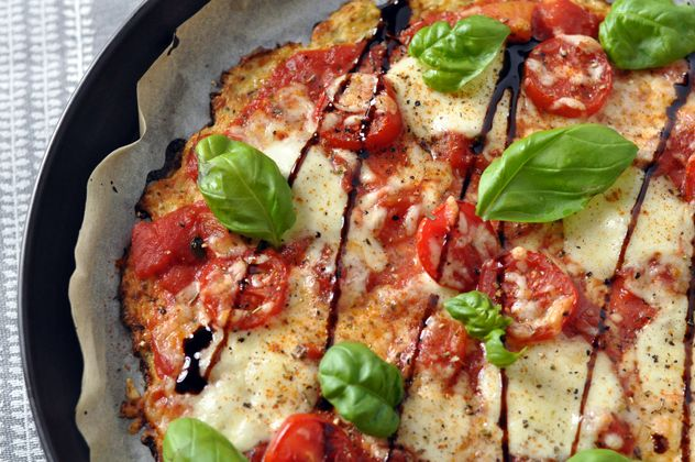 [Veggie & Low Carb] Blumenkohl Pizza Margherita
