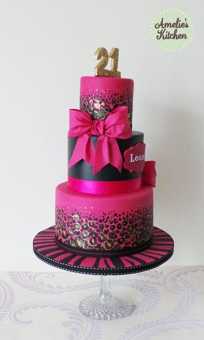 79 best 21st Birthday Cakes for Girls images on Pinterest