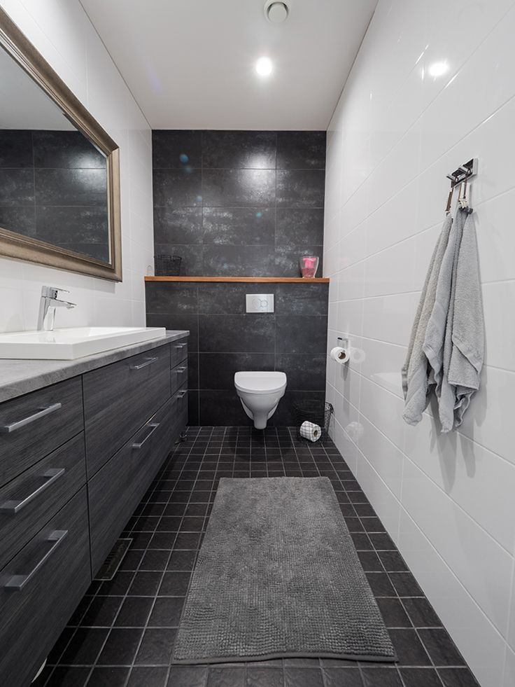 Modern bathroom. / Moderni kylpyhuone. www.valaistusblogi.fi