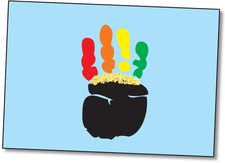 Handprint Pot of Gold!, Lesson Plans - The Mailbox