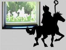 Sint en Piet....window stickers