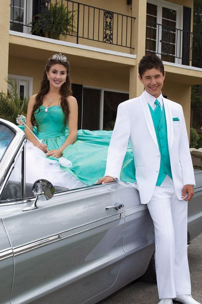 White tux Google Image Result for http://www.myfabulousday.com/images/product_images/Tuxedos-Prom-El%2520Rey-100EL.jpg