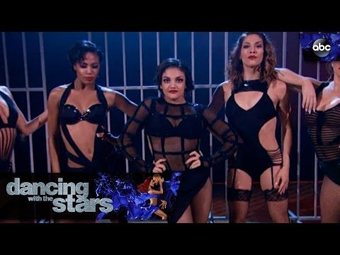 [WATCH] 'Dancing with the Stars': Laurie Hernandez's perfect 'Chicago' Cell Block Tango – she had it comin' – Goldderby