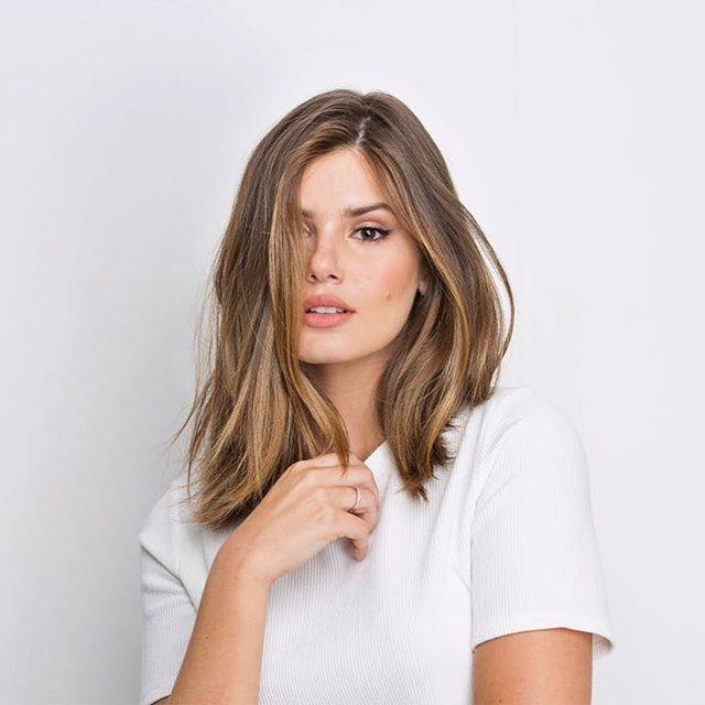Camila Queiroz - novo corte de cabelo. Achei lindo!
