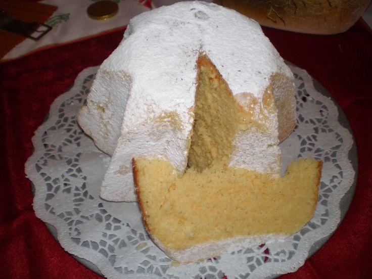 0718. Pandoro od Svetluska78 - recept pro domácí pekárnu