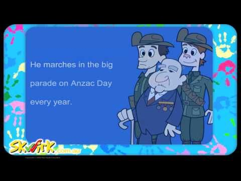 Anzac Day Read Along Ebook - Stage 1 HSIE