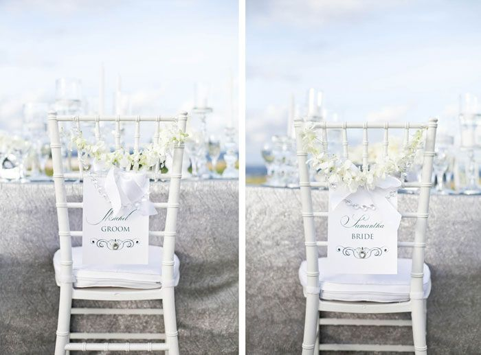 Wedding Chair Decorations By Jelena Photography Samantha Macabulos