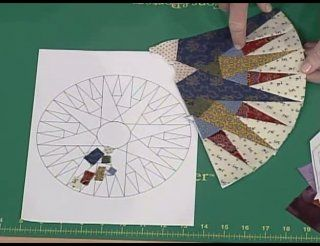 How to Make a Mariner's Compass Quilt Block