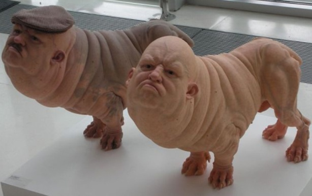 Dog And Human Mix If dogs had human heads to