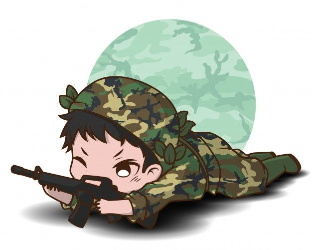 Freepik Graphic Resources For Everyone Indian Army Wallpapers Army Wallpaper Chibi Cool cartoon army image wallpaper