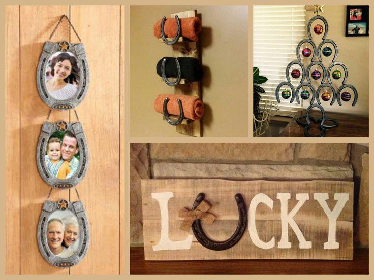 25 unique horseshoe christmas tree ideas on pinterest horseshoe crafts horse shoes and Western home decor craft ideas