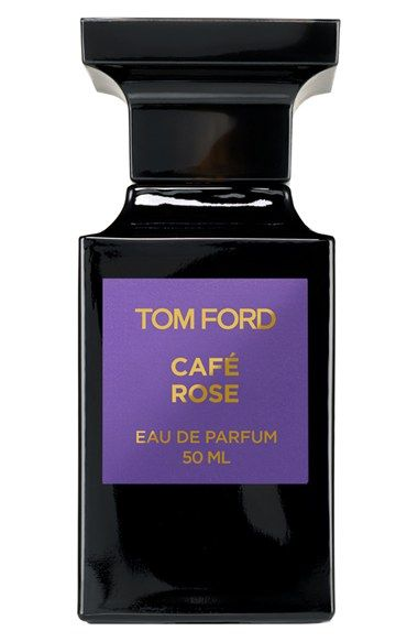 Tom Ford 'Café Rose' Eau de Parfum. Convention is abandoned and unexpected ingredients converge with intoxicating results. Enticing, exotic, seductive: coffee with traditional rose.
