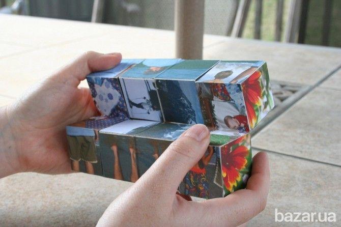 Волшебный фото-куб - подарите близким самые памятные моменты! - Сувениры / подарки Днепропетровск на Bazar.ua