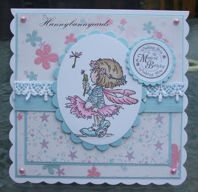 Lili of the Valley fairy birthday...Pom Pom is the stamp name.