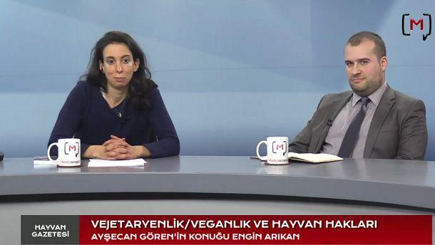 Medyascope ///  Hayvan Gazetesi (3): Vejetaryenlik, veganlık ve hayvan hakları: Engin Arıkan ile söyleşi