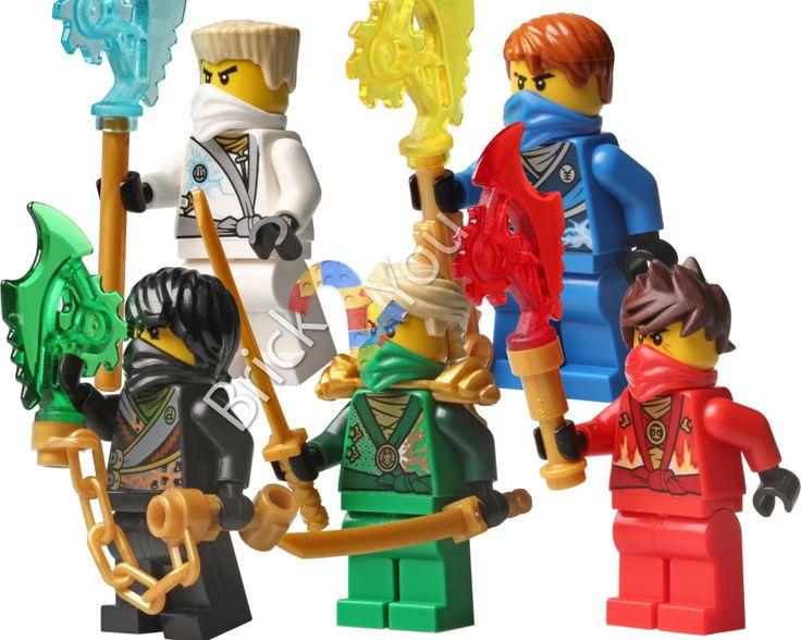 lego ninjago rebooted zane cole kai lloyd jay digital