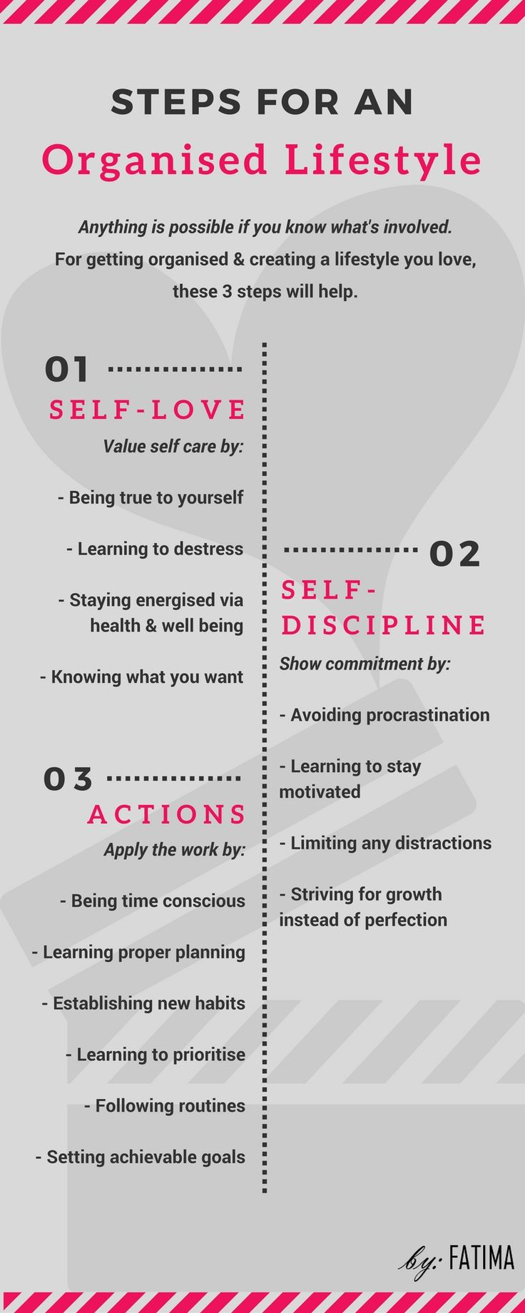 It is true when they say, you need to look after yourself first before you can care for others or do anything well. Self-love isn't only about loving who you are (faults & all), its also about learning ways to destress, find the energy you need & knowing what you want in life.