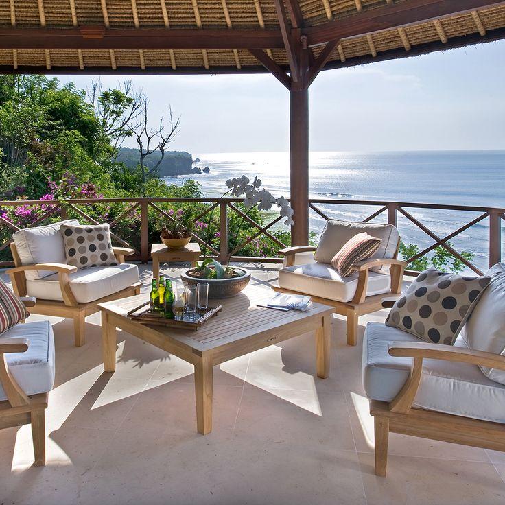 Teak Furniture At Thos. Baker | The Veranda Collection #outdoorfurniture