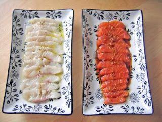 Recetas Japonesas en español!: Sashimi de salmón marinado