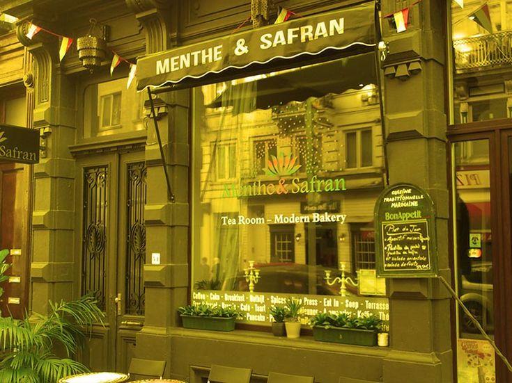 Menthe & Safran, Marokkaans restaurant en take-away. Klein, gastvrij en gezelllig familierestaurant dus wel reserveren. Hier wordt geen alcohol geschonken.  Onderrichtsstraat 51, 1000 Brussel