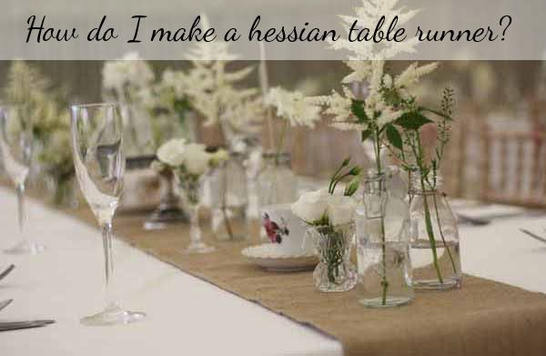 25 cute hessian table runner ideas on pinterest rustic for How to make hessian flowers