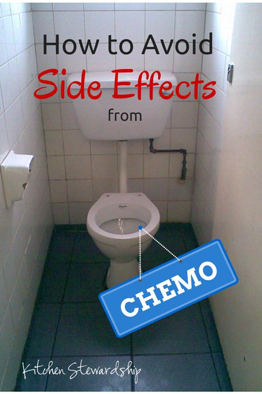 How to Avoid Chemo Side Effects - natural ideas to get the poison of chemo safely out of the patient