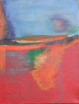Creation - Acrylic and Oil Pastel 2011