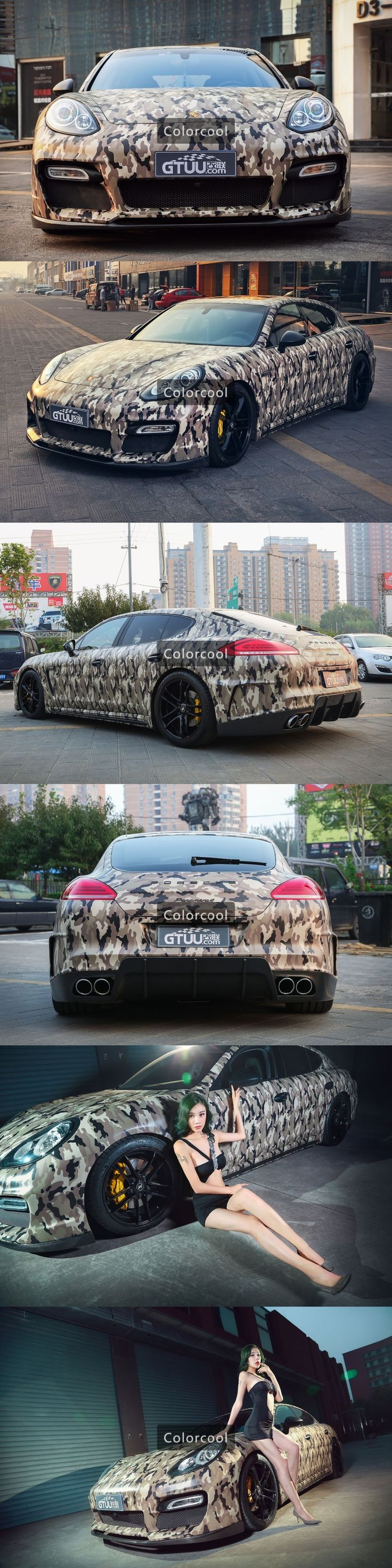 Camouflage custom car sticker bomb Camo Vinyl Wrap Car Wrap With Air Release bomb sticker Free shipping