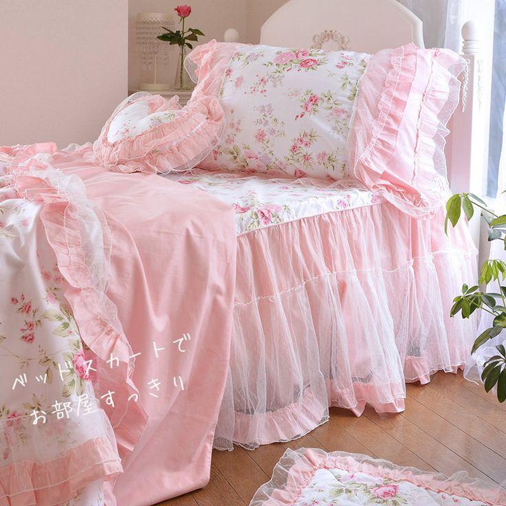000000000008_3.jpg ... 大人女子のお洒落で可愛い姫系ベッドカバー