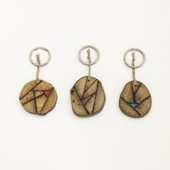 Abstract Lines Key Holders