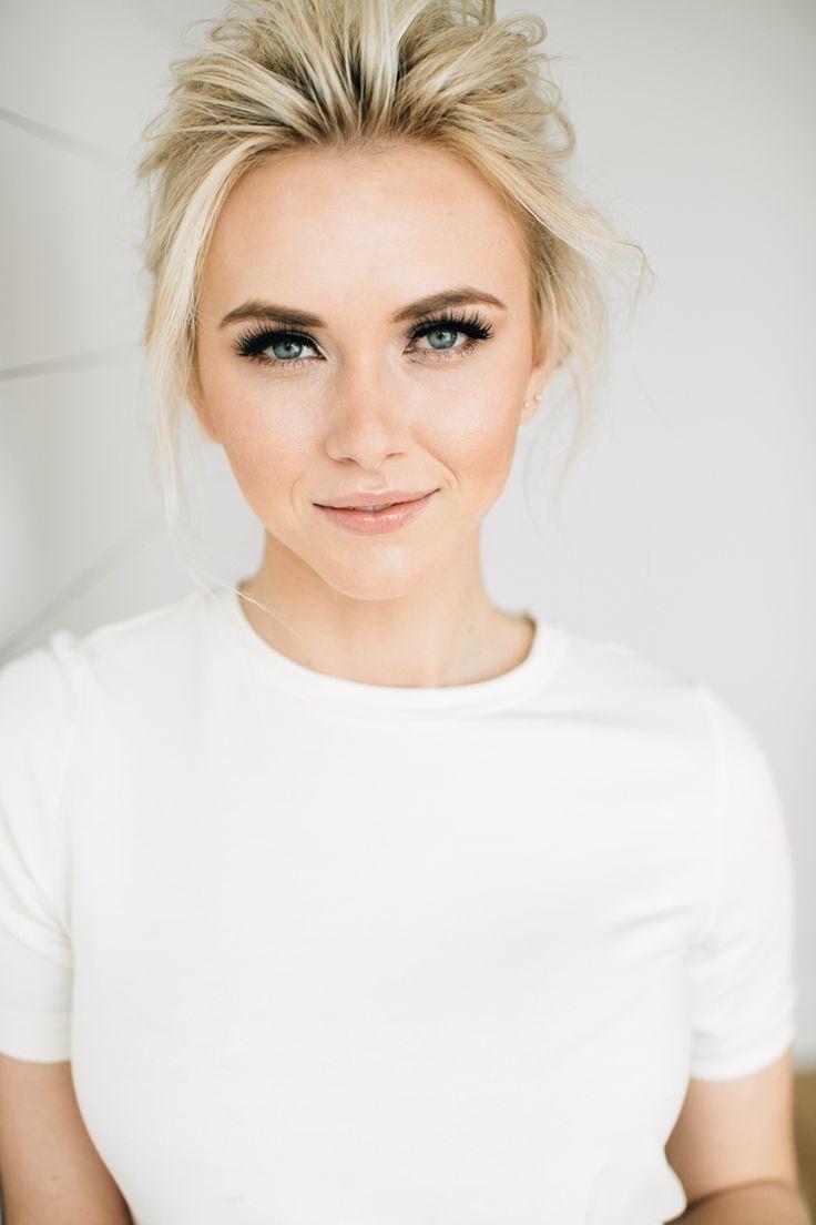 image result for bridal makeup blonde hair blue eyes | make