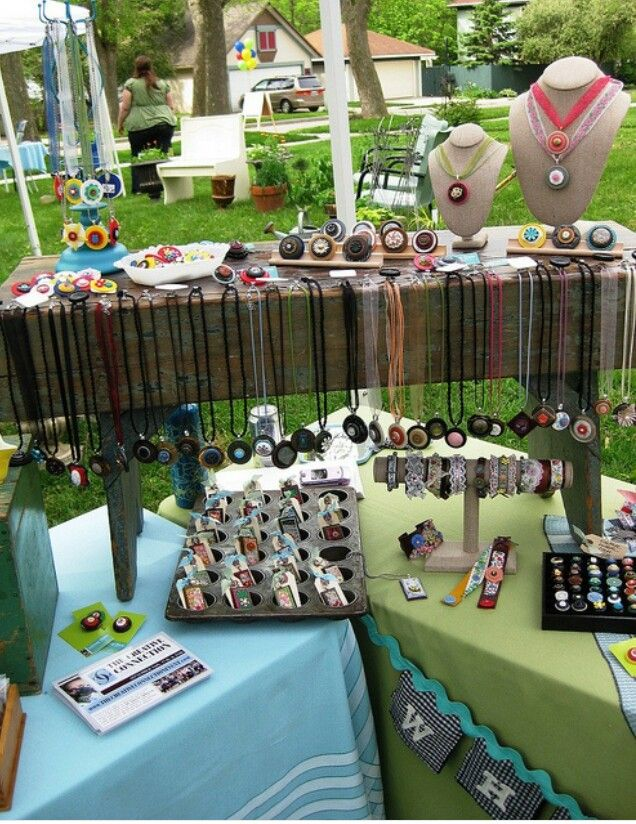 craft booth displays boho jewelry display craft show set up 1434