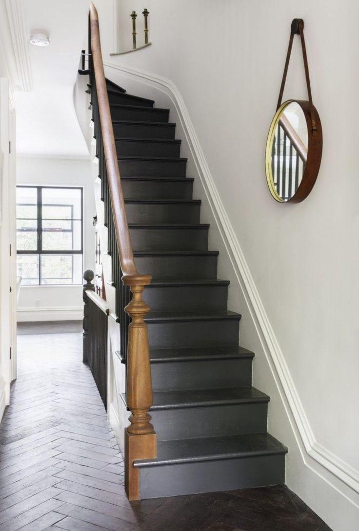 Indoor Outdoor Living Brooklyn Style Black Painted Stairspainted