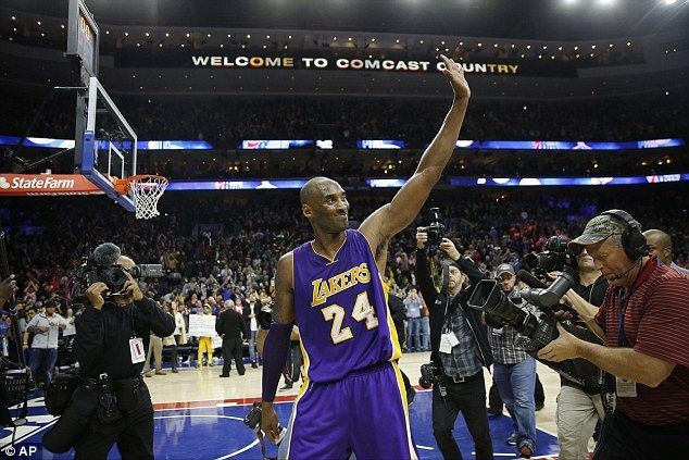 Farewell:Bryant says his biggest regret is only winning five NBA championships , and not eight
