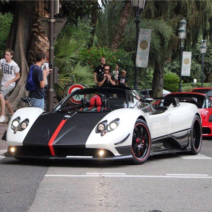 Pagani Zonda Cinque Roadster Blue
