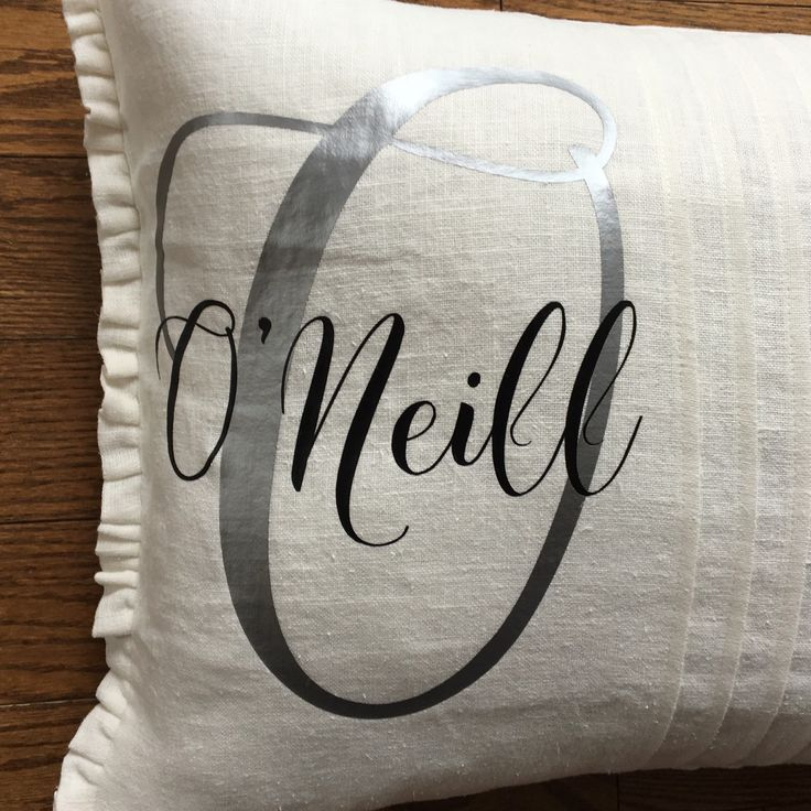 Wedding season is around the corner and this personalized wedding/anniversary date linen pillow is the perfect gift