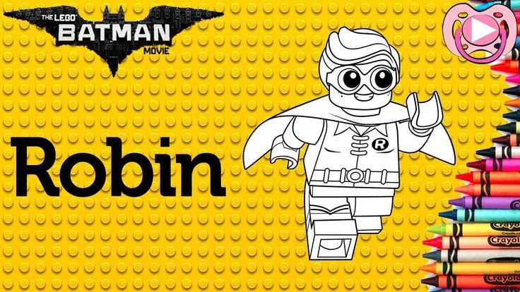 Lego Batman 2017 🦇 Colorir o Robin