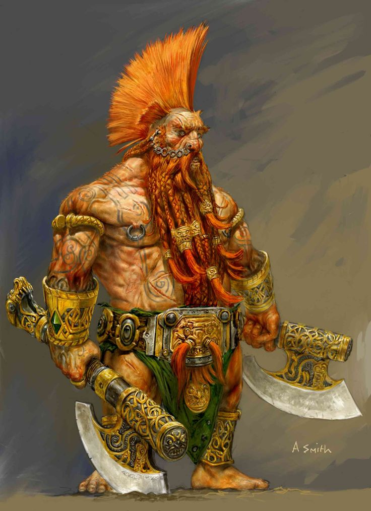 images dwarf fantasy smith - Google Search