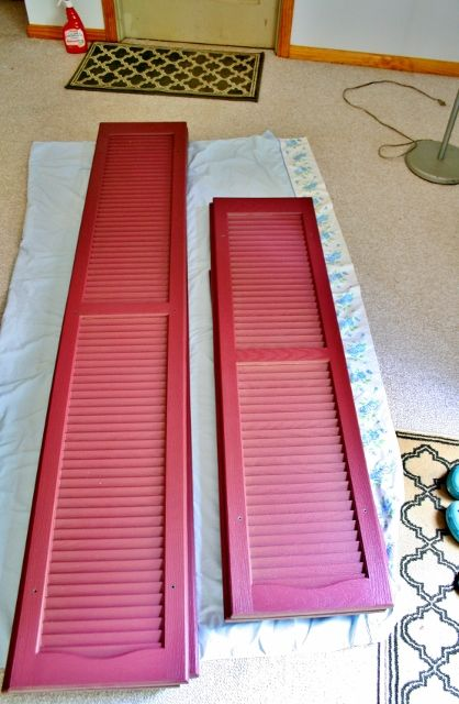 Best 25 painting shutters ideas on pinterest shutter for Paint vinyl shutters