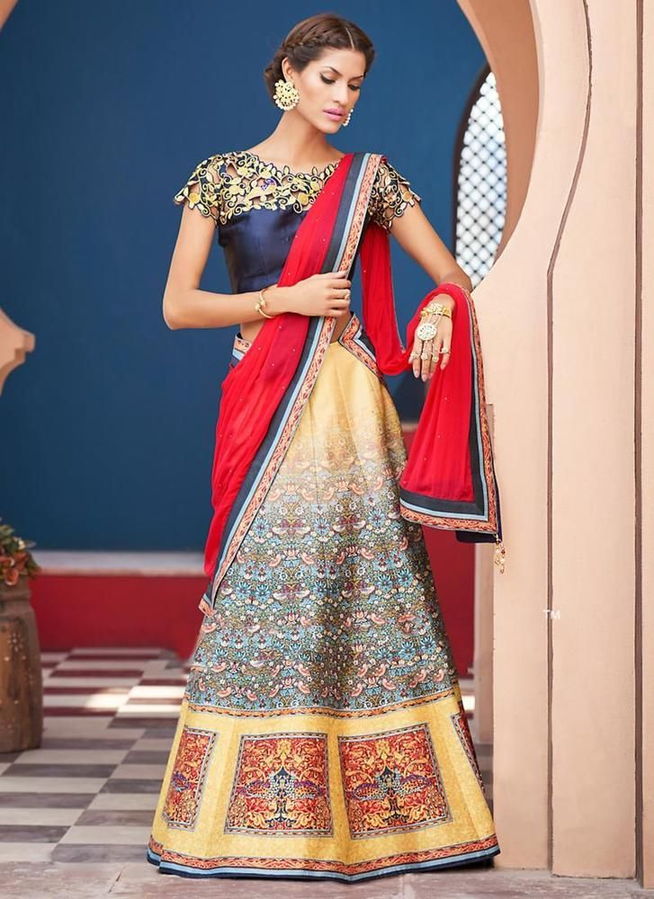 Choli Bollywood Wedding Pakistani Lehenga Indian Bridal Ethnic wear Traditional #TanishiFashion