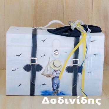 Τσάντα decoupage Μάκης Τσέλιος αγοράκι ΚΤ113
